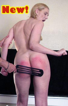 Dallas Spanks Amelia Jane Hard