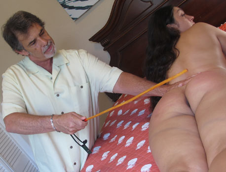 Caning Hot Women