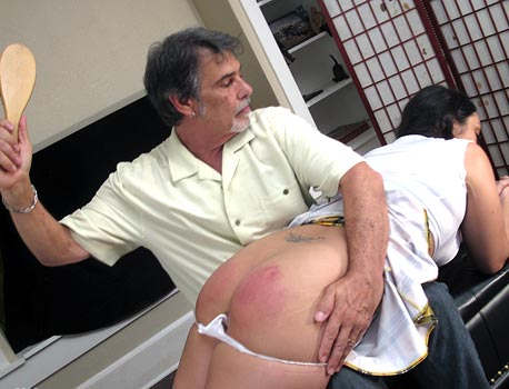 Spankings With Hairbrush