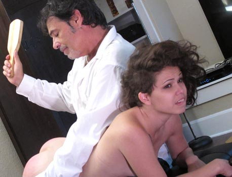 Bailey Paige Spanked