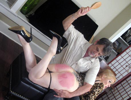 Real Hairbrush Spankings